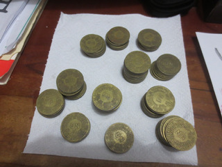 Monedas De Sol Del Perú Antiguas De 1943 A 1965