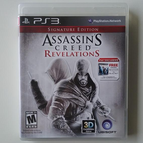 Assassins Creed Revelations Signature Ed Ps3 Física Legend P
