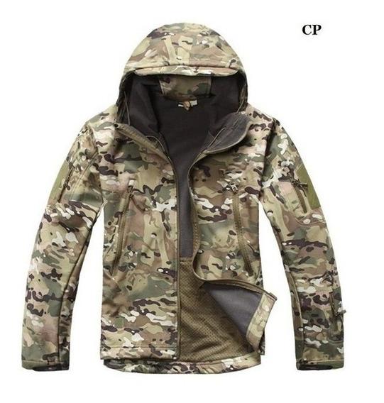 Jaqueta Blusa Camuflada Multicam Exército Impermeável Casaco