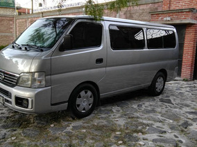 Nissan Urvan 15 Pasajeros Con Clima