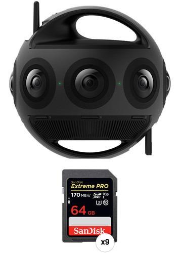 Insta360 Titan 11k Cinematic 360/vr Camera Pack