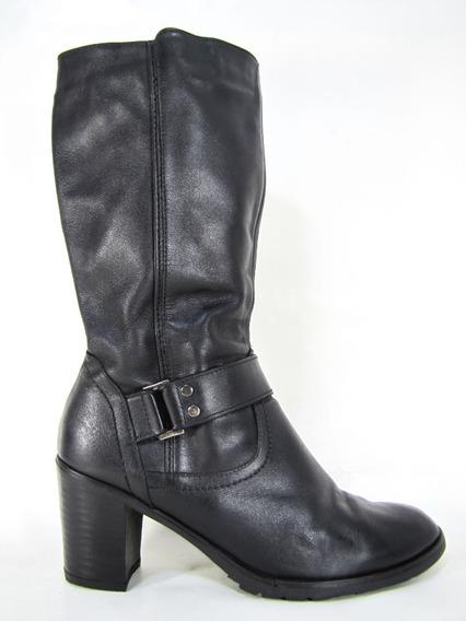 Zapatos Botas Bruno Ferrini Cuero Talla 38 Envío Gratis..¡¡