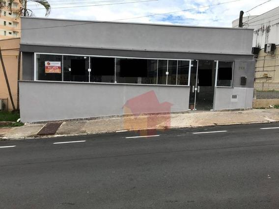 Salão Para Alugar, 235 M² Por R$ 2.500/mês - Centro - Americana/sp - Sl0045