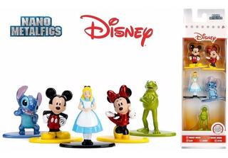 Disney Mickey Nano Metalfigs 5 Figuras Rana René, Minnie Etc