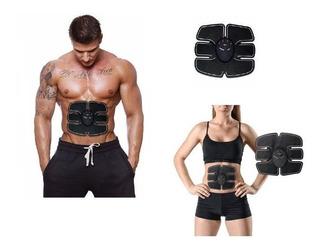 Electroestimulador Abdominal 6 Electrodos Parche Musculacion