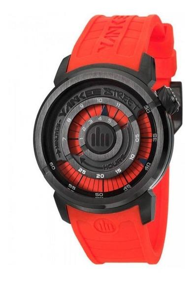 Relógio Yankee Street Unissex - Ys38196v - Vermelho/preto
