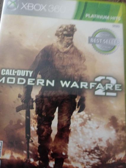 Call Of Duty Modern Warfare 2 Usado Xbox 360 Mídia Física