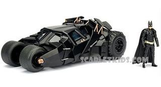 Batman Die Cast Escala 1:24 Con Figura Batimovil Dark Night