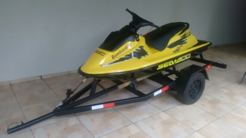 Jet Ski Sea Doo Spi Xp 750 Cc Amarelo
