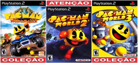 Pac Man World Coleção (3 Jogos) Ps2 Desbloqueado Patch