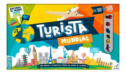 Imagen 1 de 2 de Juego De Mesa Turista Mundial Novelty