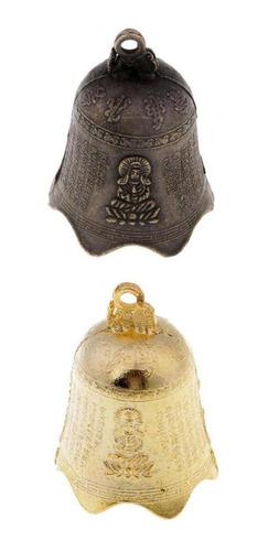 Imagen 1 de 6 de 2 Unids Feng Shui Chino Campana De Viento Antiguo Carillón