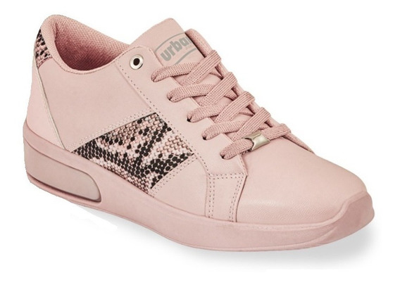 Tenis Sneakers Casual Dama Mujer Color Maquillaje Tipo Piel