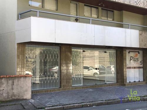 Sala Loja Comercial, Aluguel Locação, Com 170m² - Rua: João Passoa - Bairro Velha - Blumenau Sc - Lo0058