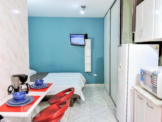 Apartamento Para Aluguel - Santo Amaro, 1 Quarto, 20 - 893054699