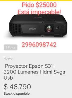 Proyector Epson S 31+ Powerlite