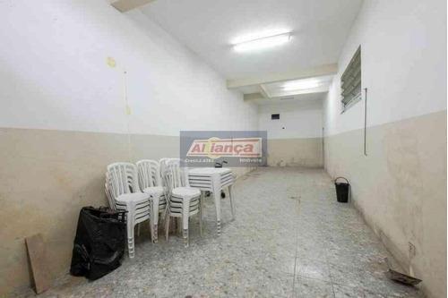 Salão Para Alugar, 56 M²  - Parque Jurema - Guarulhos/sp - Ai15297