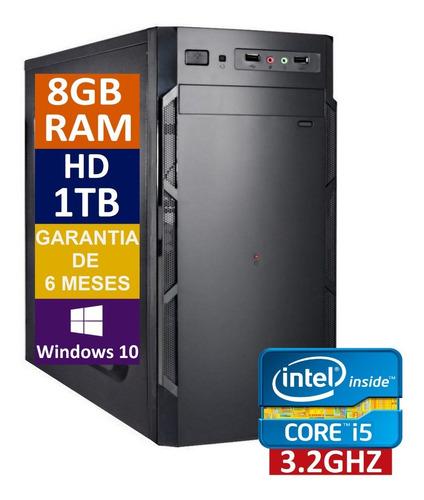 Pc Computador Cpu Core I5 3470 + Hd 1tb + 8gb Memória Ram