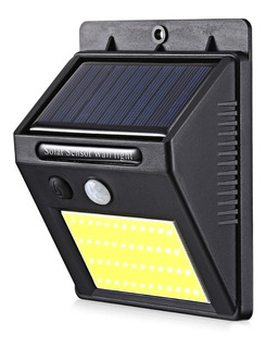 Luz Led Exterior Solar 20 Led 60w Sensor Movimiento Jardin