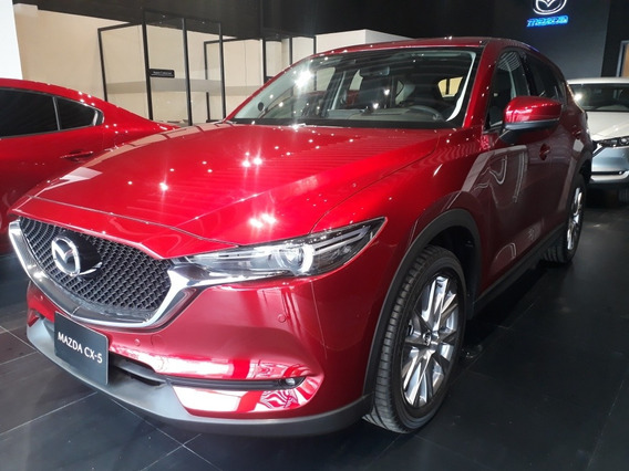 Mazda Cx-5 Grand Touring Lx 2.5l 4x4 2021 Rojo Diamante