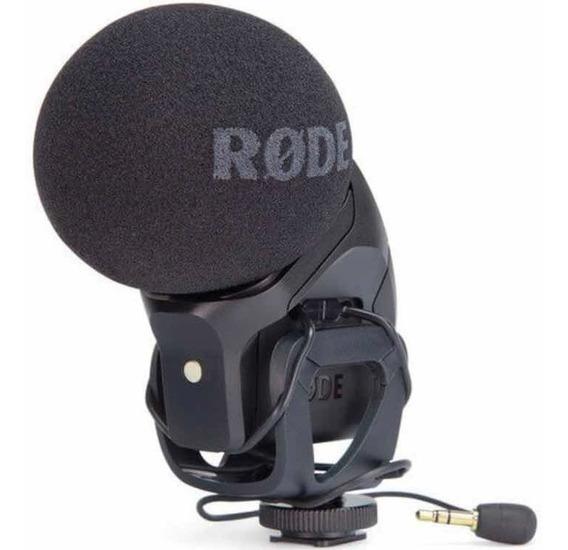 Microfone Rode Estereo Videomic Pro