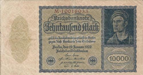 Imagen 1 de 2 de Alemania 10000   Marcos 1922