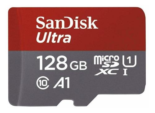 Memoria Microsd 128gb Sandisk Micro Sd Clase 10 100mb/s Ori