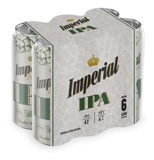 Cerveza Imperial Ipa 473 Ml Pack 6 Unidades - Perez Tienda -