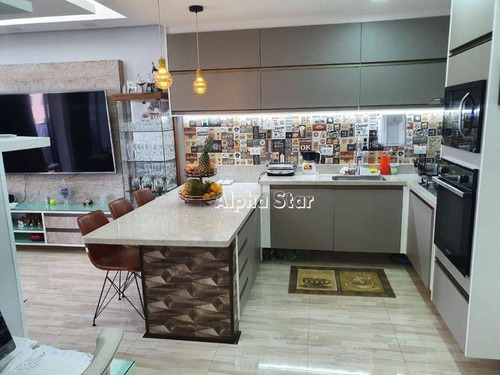 Imagem 1 de 18 de Flat Com 1 Dormitório À Venda, 56 M² Por R$ 530.000,00 - Edifício Le Bouganville - Barueri/sp - Fl0020
