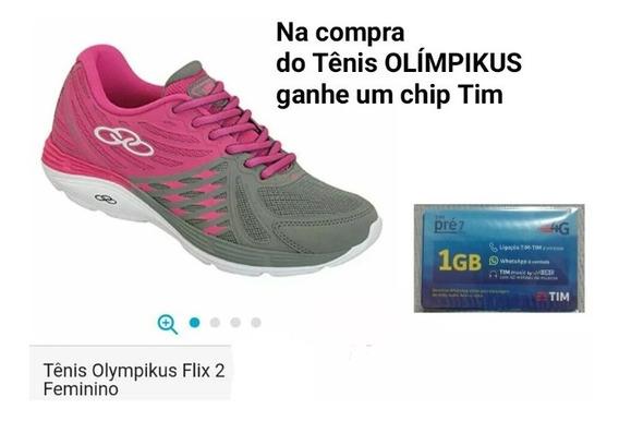 Tênis Olímpikus Original. Promoção E Ganhe Um Brinde.