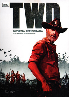 The Walking Dead Novena Temporada 9 Nueve Dvd