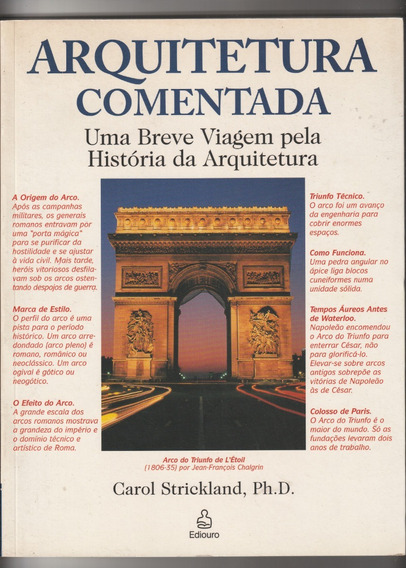 Livro Arquitetura Comentada - Carol Strickland