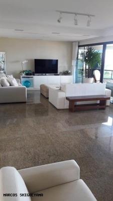 Apartamento Para Venda Em Salvador, Ondina, 4 Dormitórios, 4 Suítes, 6 Banheiros, 4 Vagas - Ms0765
