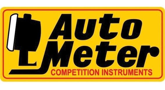 Autometer Auto Meter Calcomania Calco Originales Made In Usa