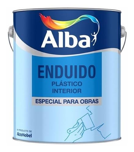 Enduido Plastico Alba Standard Interior 20l/33k Pintumm