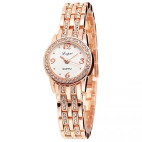 Relógio Lvpai Femenino Com Strass