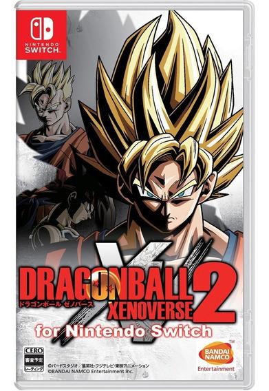Dragon Ball Xenoverse 2 Switch Mídia Física Lacrado
