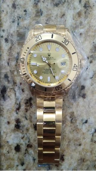 Relógio Rolex Submariner Dourado Oyster Perpetual Revenda