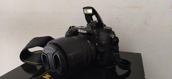 Câmera D7000 Com Lente 18/105 Super Conservada