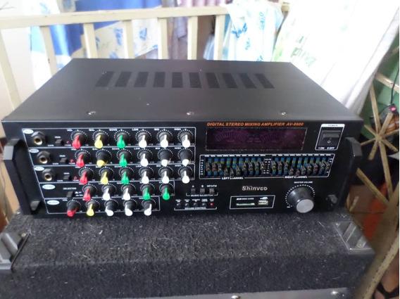 Amplificador Shinvco Av-8900 300 Watts