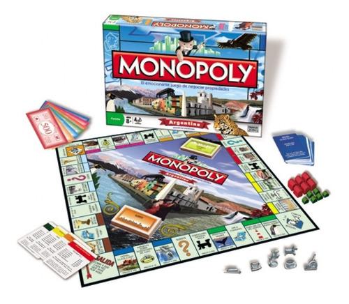 Imagen 1 de 10 de Monopoly Argentina Juego De Mesa Original Toyco Licen Hasbro