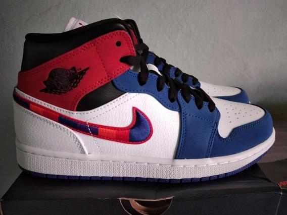 Tênis Air Jordan 1 Mid Se Masculino Original Pronta Entrega