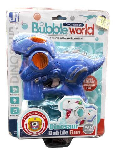 Burbujero Automatico Dinosaurio Luz Musica Nvo 0385 Bigshop