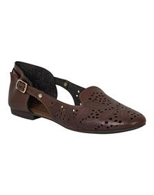 Calzado Mujer, Flats Laterales Descubiertos, Nomadas (kv330)