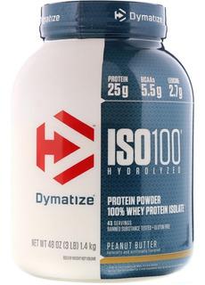 Iso 100 Peanut Butter 5lbs - Dymatize