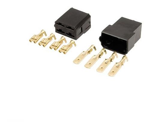 Conector 4 Vias Encaixe Pacote Com 10 Pares - Permak 35/a