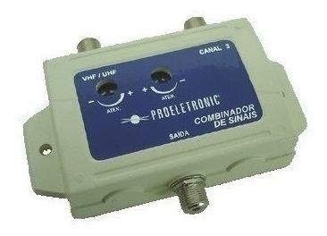 Combinador De Sinais Vhf Ch 3 Proeletronic