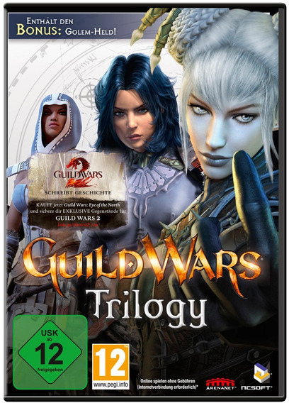 Guild Wars Trilogia Original Envio Imediato