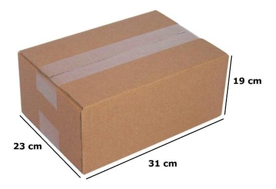 Caixa Papelão Transportadora Correios 19x31x23 C/ 100 Unid