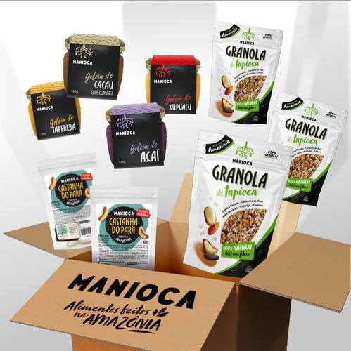 Kit Café Da Manhã 100% Natural Da Amazônia - Manioca